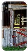 A Country Scene IPhone Case