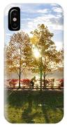A Crisp Fall Morning IPhone Case