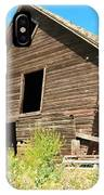 A Crooked Old Barn  IPhone Case