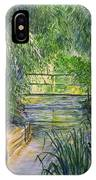 A Day At Giverny IPhone Case