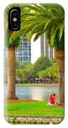 A Day At The Park IPhone Case