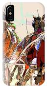 A Day At The Races 2 IPhone Case