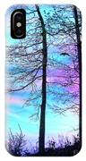 A Day With Dancing Lights IPhone Case