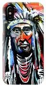 A Decorated Chief 1 IPhone Case