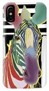 A Different Zebra IPhone Case by Teresa Epps