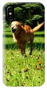 A Dogs Freedom IPhone Case