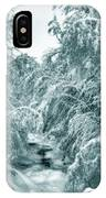 A Drink From Halls Brook IPhone Case