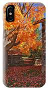 A Fall Day IPhone Case