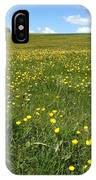 A Field Of Buttercups IPhone Case