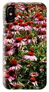 A Field Of Echinacea IPhone Case