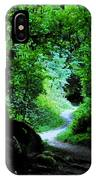 A Forest Trail IPhone Case