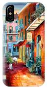 A French Quarter Evening IPhone Case