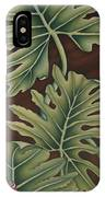 A Frog On A Philodendron IPhone Case