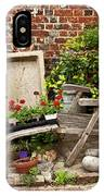 A Garden Corner IPhone Case