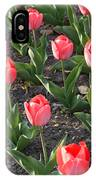 A Garden Full Of Tulips IPhone Case