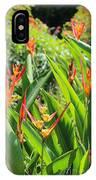 A Garden Paradise IPhone Case