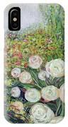 A Garden Romance IPhone Case