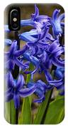 A Gathering Of Blues IPhone Case