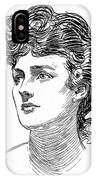 A Gibson Girl By Charles Dana Gibson IPhone Case