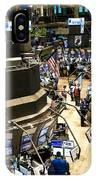 A High Angle View Of The New York Stock IPhone Case