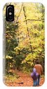 A Hike Into The Forest IPhone Case