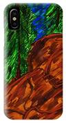 A Hike On A Park Trail IPhone Case