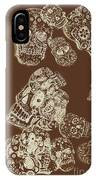 A Holiday Inversion  IPhone Case