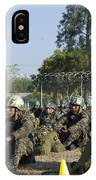 A Honduran Jumpmaster Explains Actions IPhone Case