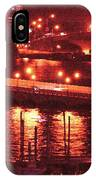 A Hot Night On Biscayne Bay IPhone Case