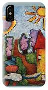 A House And A Mouse IPhone Case