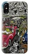 A I P Monster Movie Marathon At The Twilight Drive - In  La Porte Indiana IPhone Case