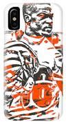 A J Green Cincinnati Bengals Pixel Art 5 IPhone Case