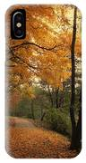 A Leafy Path IPhone Case