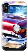 A Line Of Classic Antique Cars 9 IPhone Case