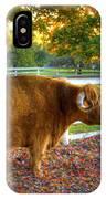 A Little Shaker Bull 2 IPhone Case