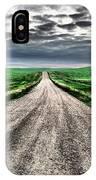 A Long Dakota Road IPhone Case