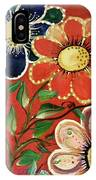 A  Trio Of Flowers IPhone Case