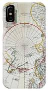 A Map Of The North Pole IPhone Case