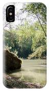 A Medina River Morning IPhone Case
