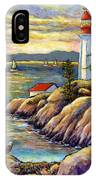 A Moment By The Sea IPhone Case
