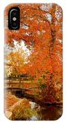 A Morning In Autumn - Lake Carasaljo IPhone Case