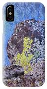 A Mossy Rock  IPhone Case