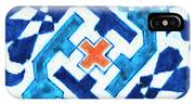 A Multan Pottery Tile, Pakistan, Late 15th Century, By Adam Asar, No 19x IPhone Case