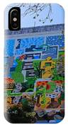 A Mural On The San Antonio Riverwalk IPhone Case