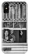 A New Orleans Greeting 2 Bw IPhone Case