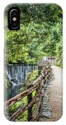 A Path Between Two Waters IPhone Case