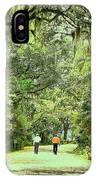 A Peaceful Walk IPhone Case