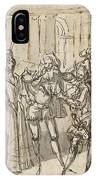 A Performance By The Commedia Dell'arte IPhone Case