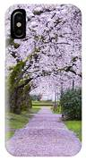 A Pink Pathway IPhone Case