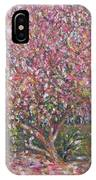 A Pink Tree IPhone Case